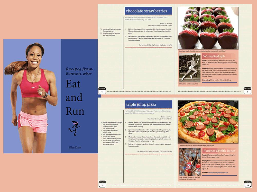 running recipe book